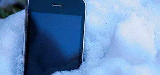 Как уберечь сотовый телефон от мороза