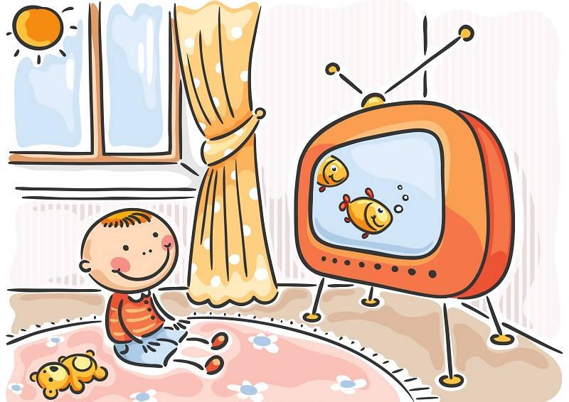 Что смотрят наши дети по телевизору