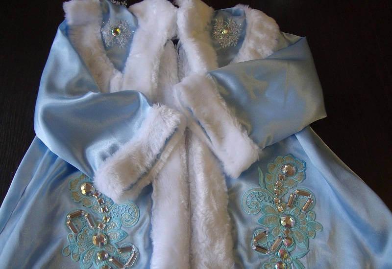 Карнавальный наряд Снегурочки