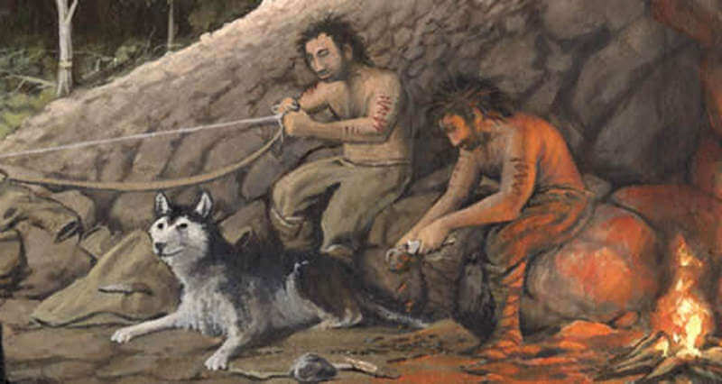 Собака в древности