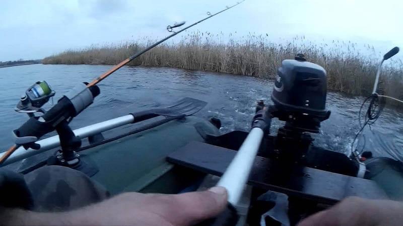 Лодка ПВХ для рыбалки