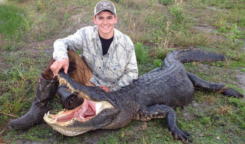 Охота на аллигаторов
