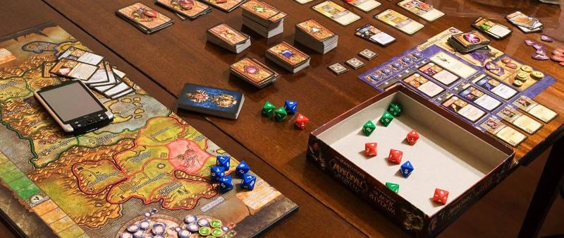 Настольная игра World of Warcraft