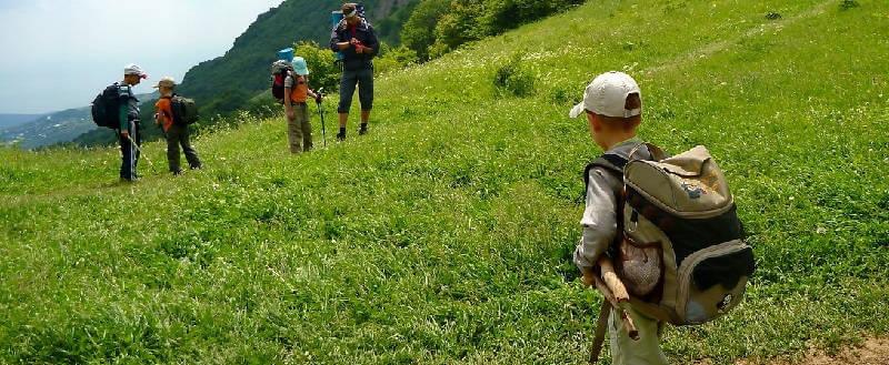 Туристический поход с детьми
