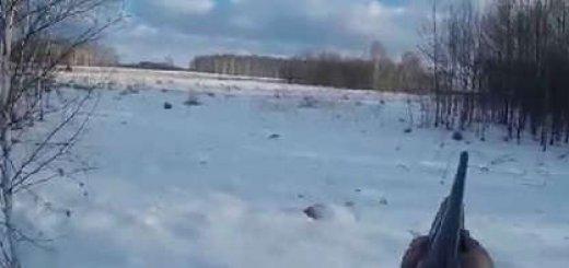 Ходовая зимняя охота