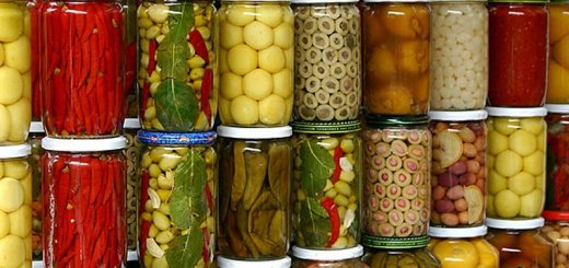Консервирование фруктов и овощей
