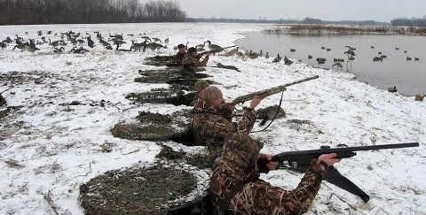Охота в Канаде видео