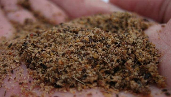 Песок в качестве приманки