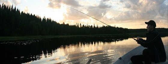 Видео рыбалки летом в вечернее время