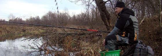 Рыбалка весной на малой реке