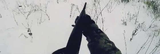 Видео зимней охоты на зайца