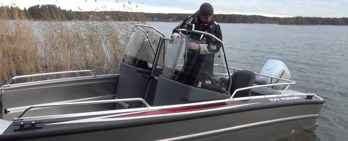 Алюминиевый катер для рыбалки