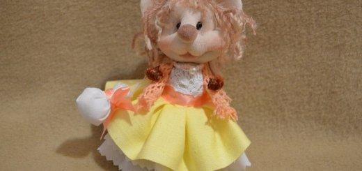 Кукла мышь