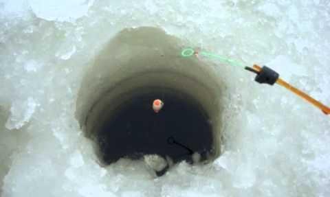 Ловля зимой на поплавок