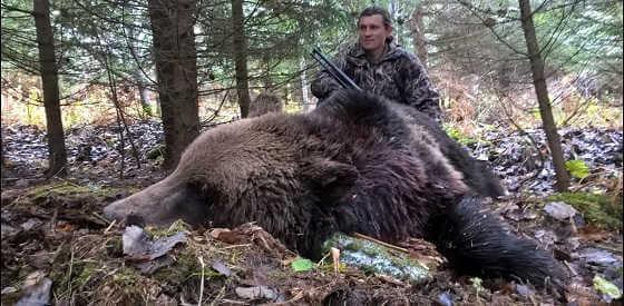 Охота на медведя на Урале