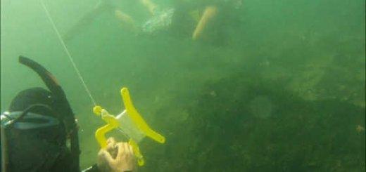Подводная охота в январе