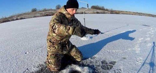 Рыбалке на Оке зимой в 2018 году