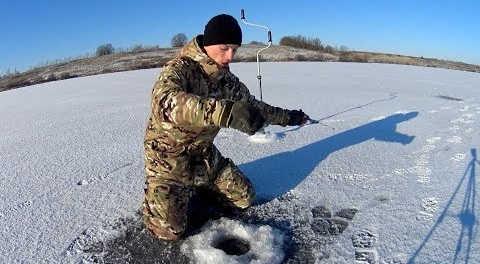 Рыбалка на Оке зимой в 2018 году