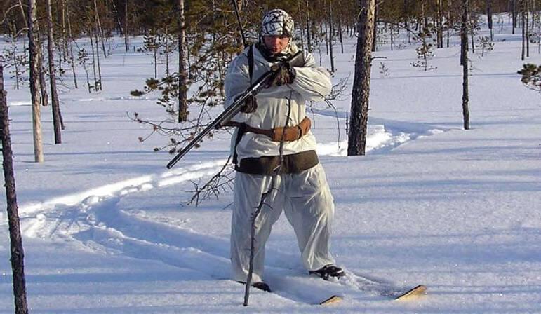 Охота на рябчиков по снегу видео