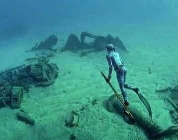Подводный охотник видео
