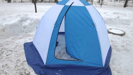 Рыбалка зимой в палатке видео