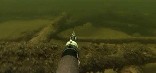 Видео подводной охоты на реке Волга в 2016