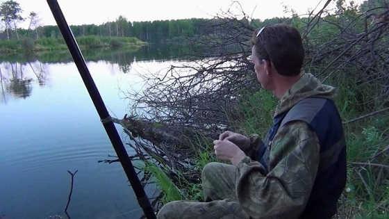Ловля карася в Омской области видео