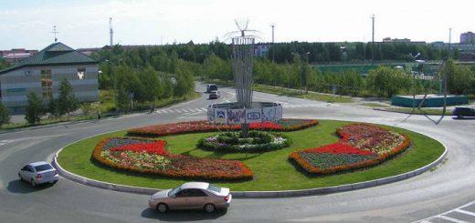 Город Лянтор в Тюменской области