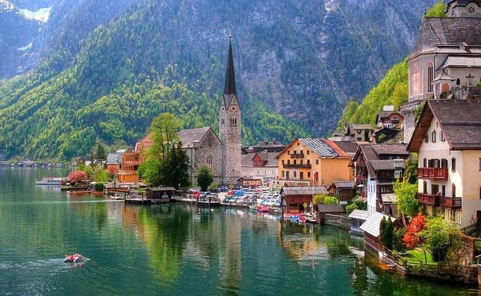 Отдых на озёрах Австрии