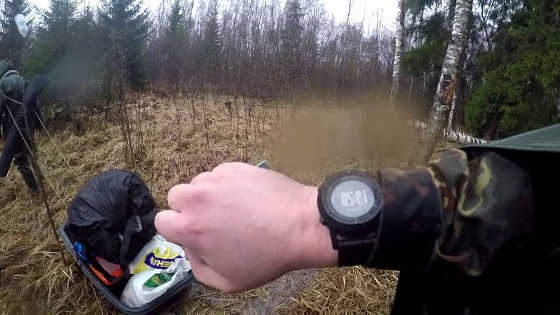 Весенняя охота на гусей на болоте видео