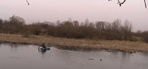 Весенняя охота на селезня с подсадной уткой видео