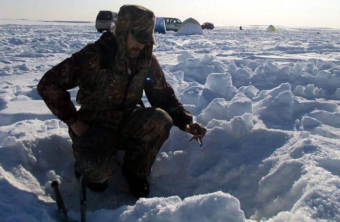 Якутская подледная рыбалка