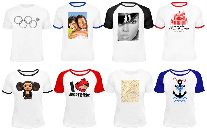 Картинки на футболках