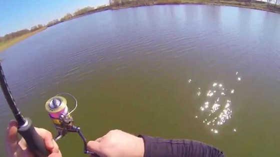 Ловля судака на джиг весной видео