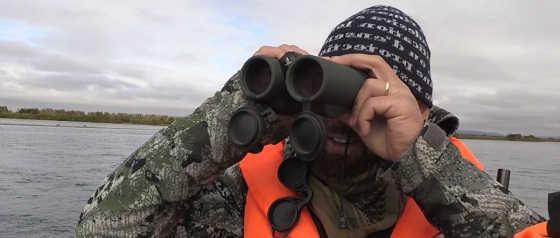 Охота на чукотского лося видео