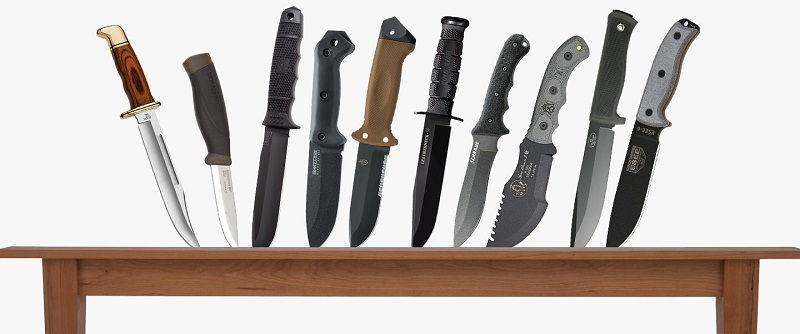 Разновидности ножей