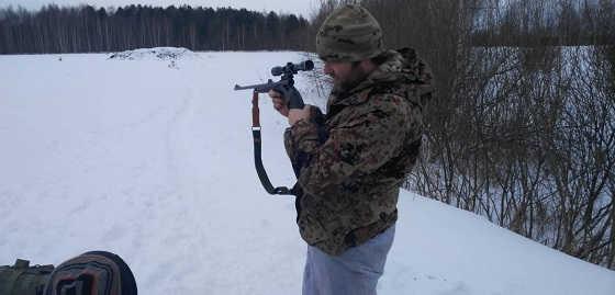 Стрельба по лосю с 200 метров видео