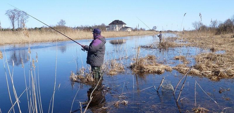 Долгожданная весенняя рыбалка
