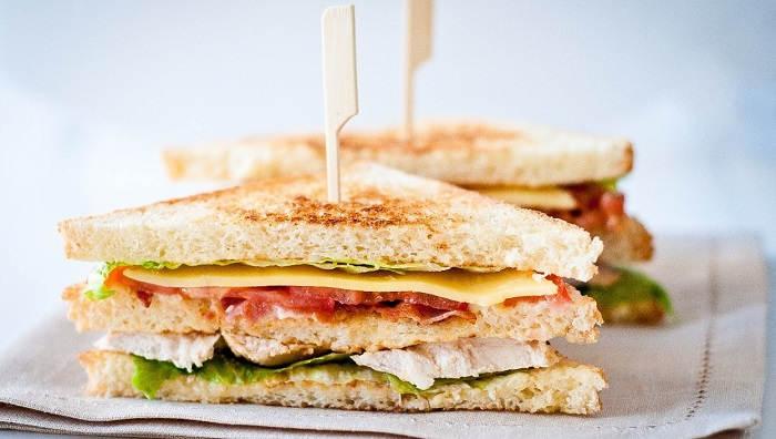 Бутерброд «Петушок – золотой гребешок»