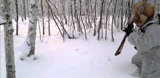 Охота на боровую дичь на лунках видео