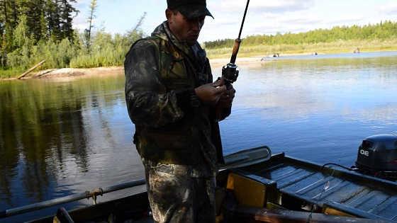 Рыбалка на Еты-Пуре видео