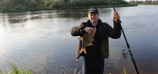 Рыбалка на течении видео