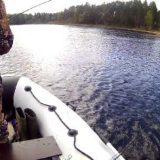 Ловля щуки на спиннинг в июне с лодки видео