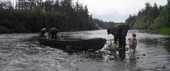 Рыбалка на реке Гуджал видео