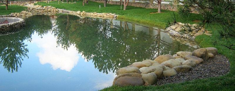 Уход за искусственным водоемом