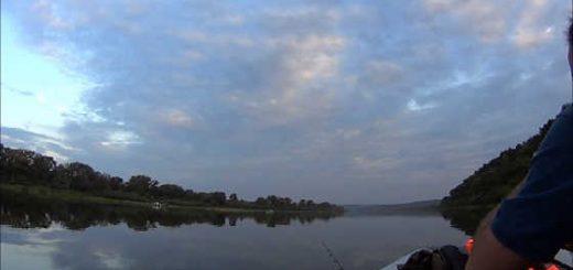 Июльская рыбалка на Оке видео