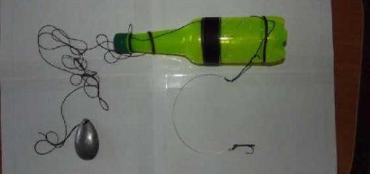 Ловля щуки на жерлицу из бутылки видео