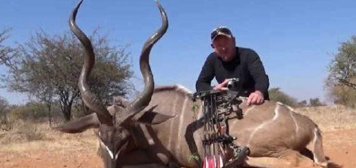 Охота в Намибии с луком видео