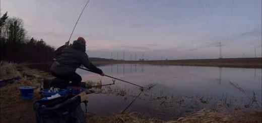 Рыбалка с ночевкой в Беларуси видео