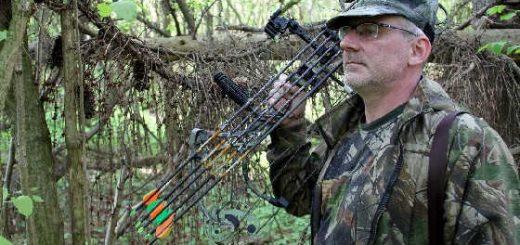 Стрельба из лука на охоте видео